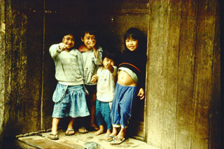 Children - Banga-an, Luzon, Philippines - 1993