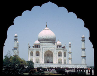 Taj Mahal - Agra, India - 1987